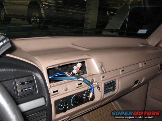 1994 Ford Bronco Interior After Brake In Picture