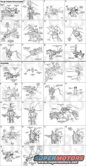 steeringcolumn92 1994 ford crown victoria steering column picture supermotors net