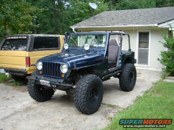 Jeep Wrangler 2018 >> 2002 Jeep Wrangler 2002 TJ picture | SuperMotors.net