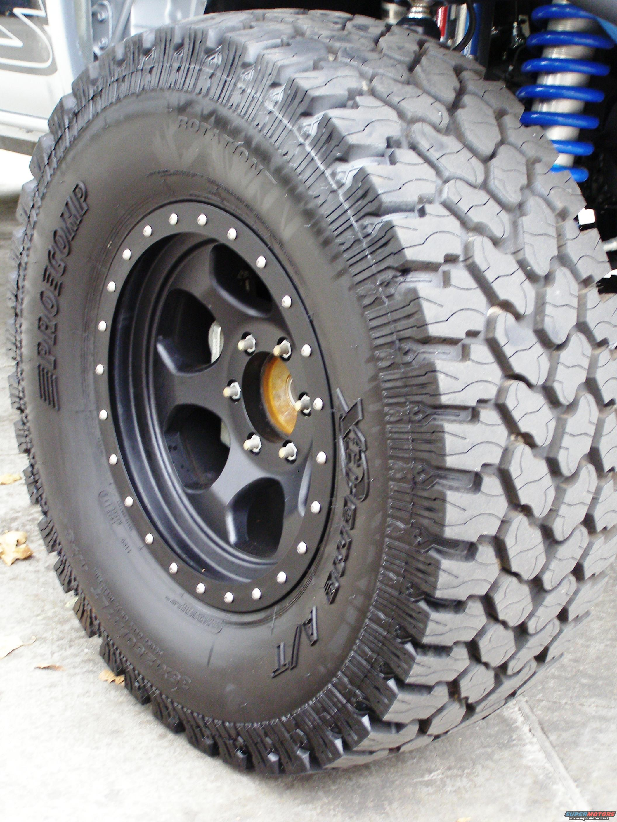 Tire Procomp Xtreme At On Robby Gordon Beadlock Ii on Ford Bronco