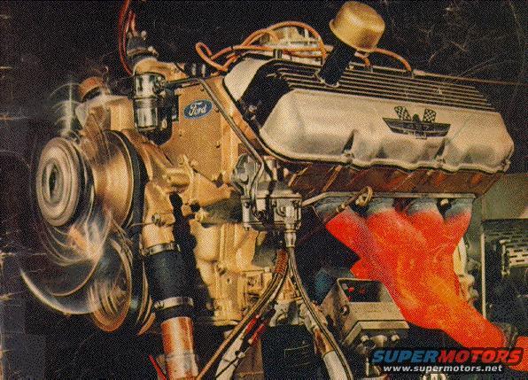 Fullsize on Ford 427 Sohc Cammer Engine
