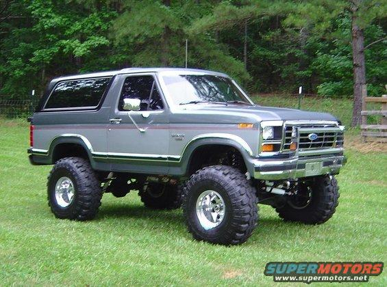 1986 Ford Bronco Pictures Photos Videos And Sounds