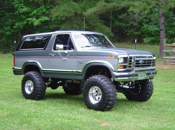 Off Road Design >> 1986 Ford Bronco Off-Road picture | SuperMotors.net