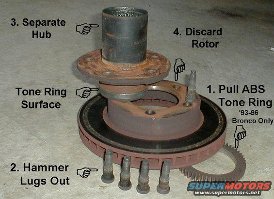 1983 Ford Bronco Brakes & Hubs picture | SuperMotors net
