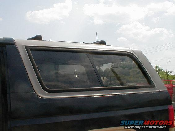 1983 Ford Bronco Camper Shell Amp Sliding Side Windows