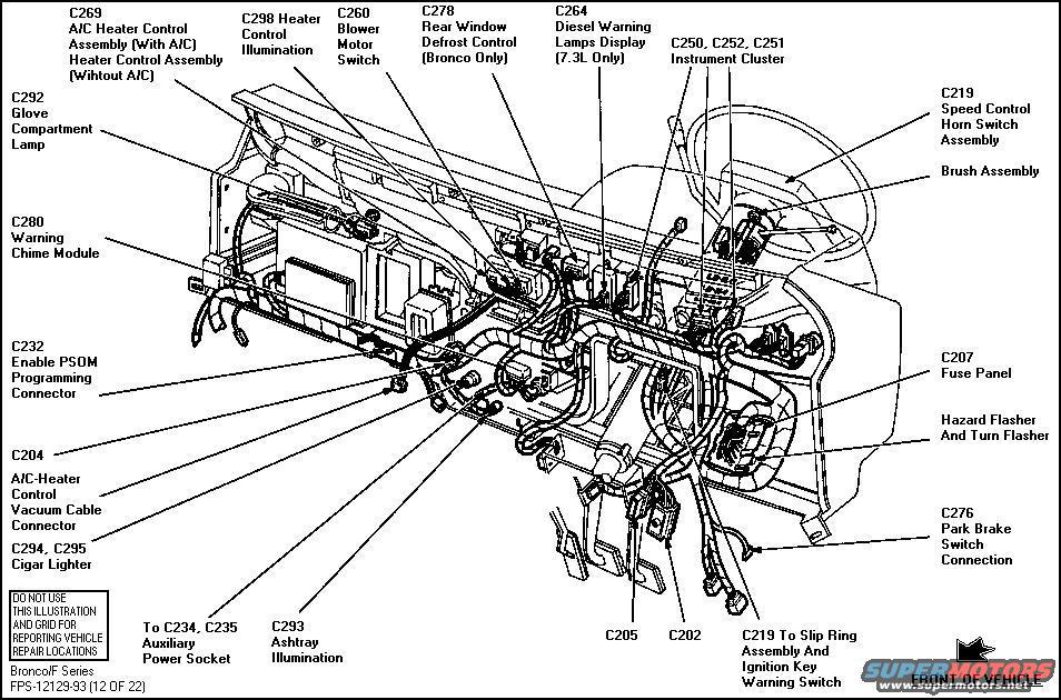 1992 ford f150 xlt radio wiring diagram 1983    ford    bronco diagrams picture supermotors net  1983    ford    bronco diagrams picture supermotors net