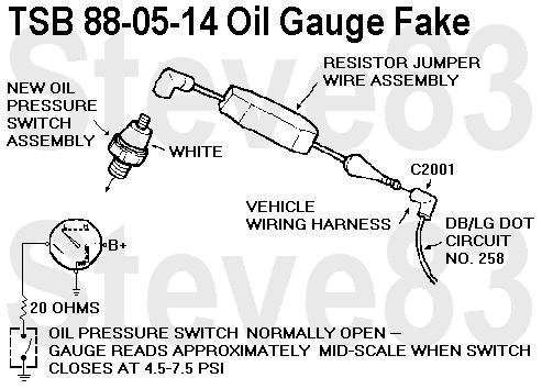 1983 ford bronco tsbs fsas recalls for 83 96 broncos f150s rh supermotors net 6.4 Powerstroke Oil Pressure Switch Wiring Diagram VDO Oil Pressure Switch Wiring
