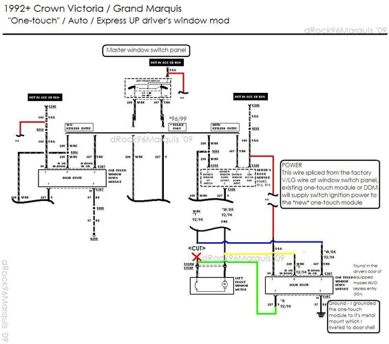 wiring diagram 2002 mercury grand marquis 1996 mercury grand marquis panther body/chassis/misc ...