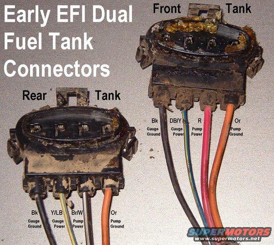 Fuel Pump Wiring In Tank