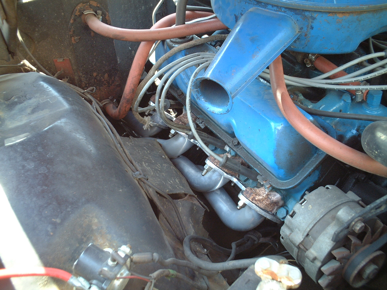 1967 Ford Galaxie Hooker Headers & X-pipe Exhaust - 08/2002 picture