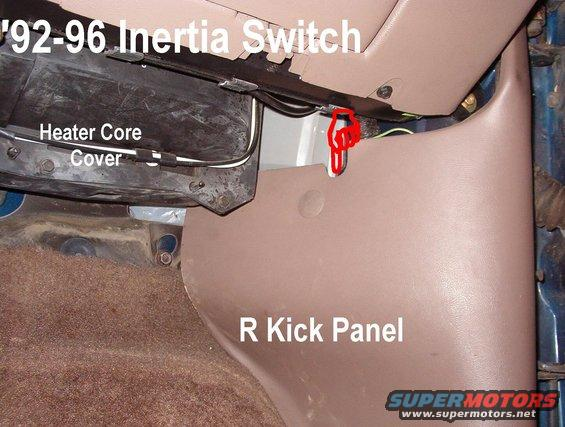 Fuel Pump Inertia Switch Reset | Advance Wiring Diagrams