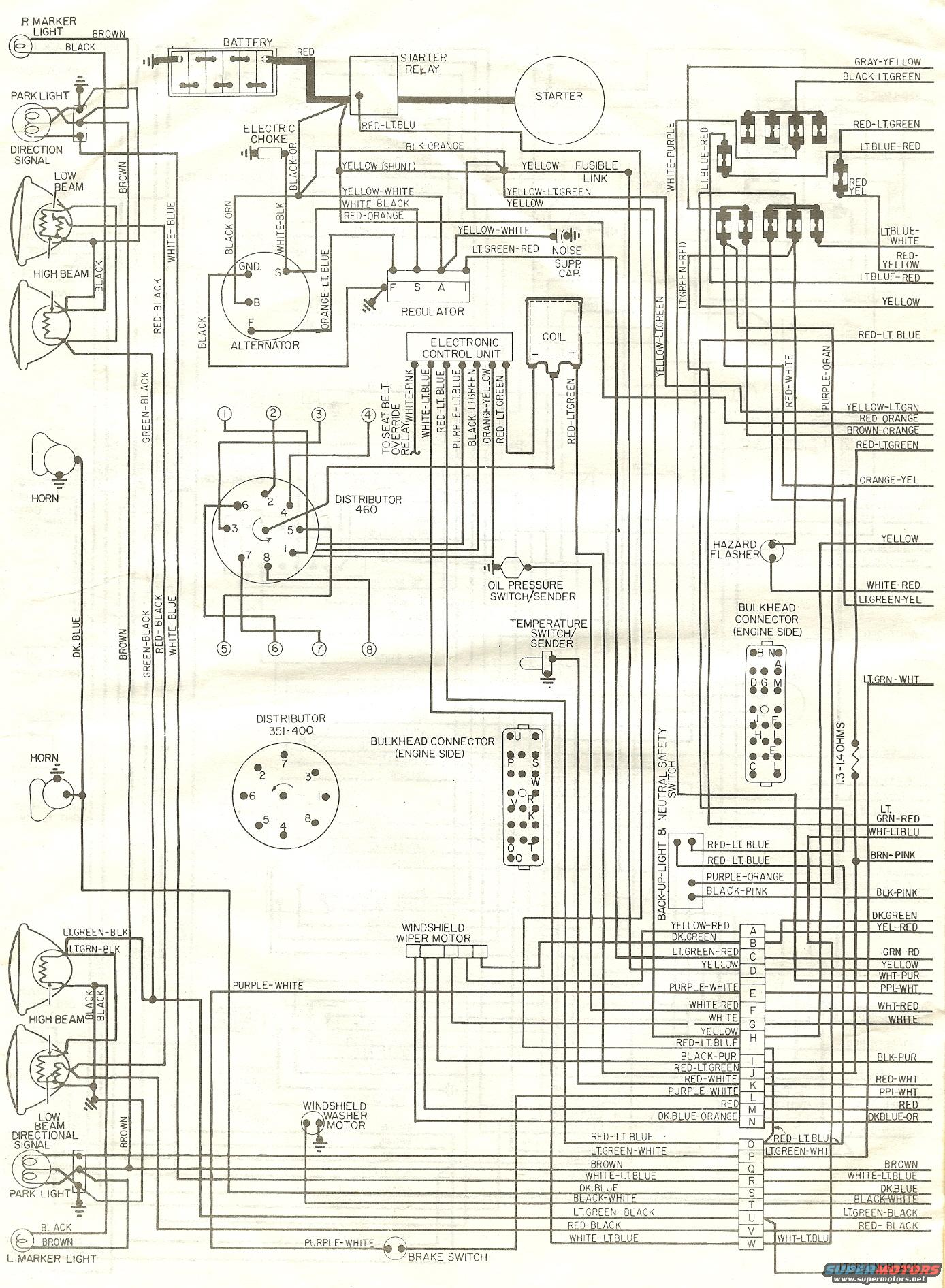 79 Charging Problem Ford Alternator Wiring Diagram Free Picture Img