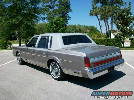 1989 Lincoln Town Car Skip24 S Lincoln Picture Supermotors Net