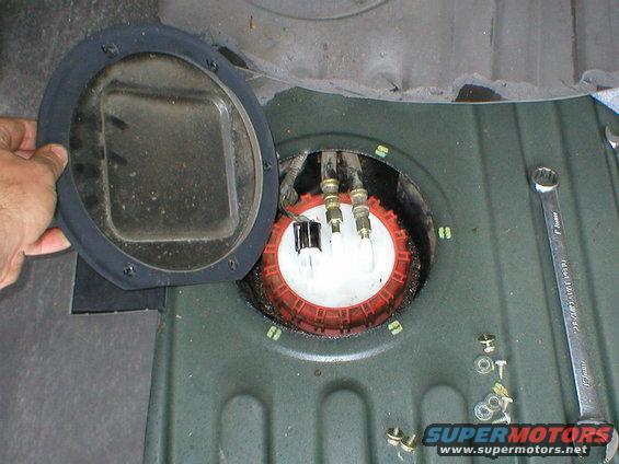 1983 Ford Bronco Bronco Fuel Pump Access Hole Pictures