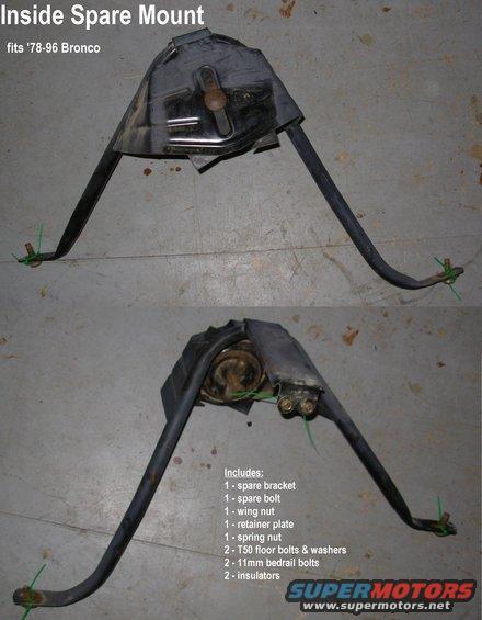 interior spare tire location? - Ford Bronco Forum