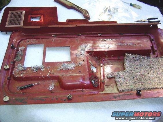1986 Ford Bronco Door Panel Restoration pictures, videos ...