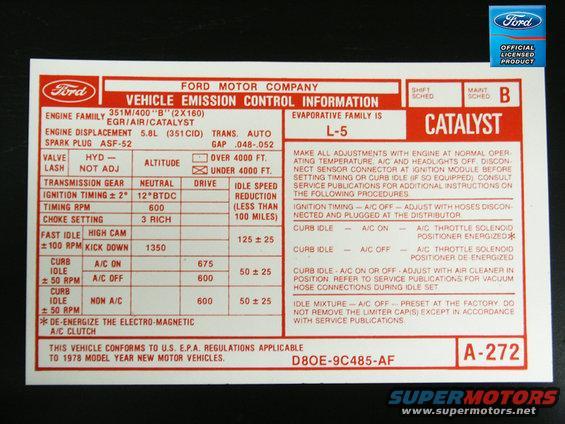 Stickerd Catalyst on Ford F 150 Engine Diagram