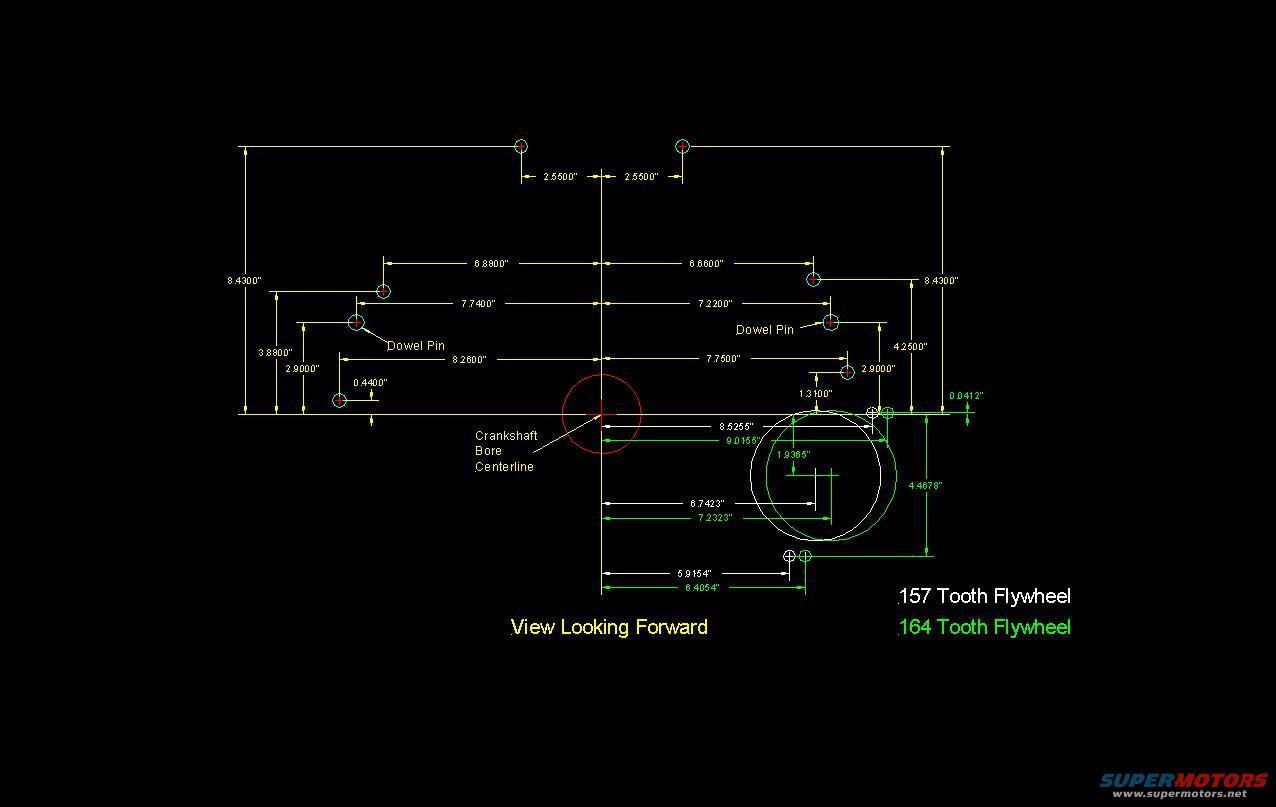 Small Block Ford Bellhousing Dimensions