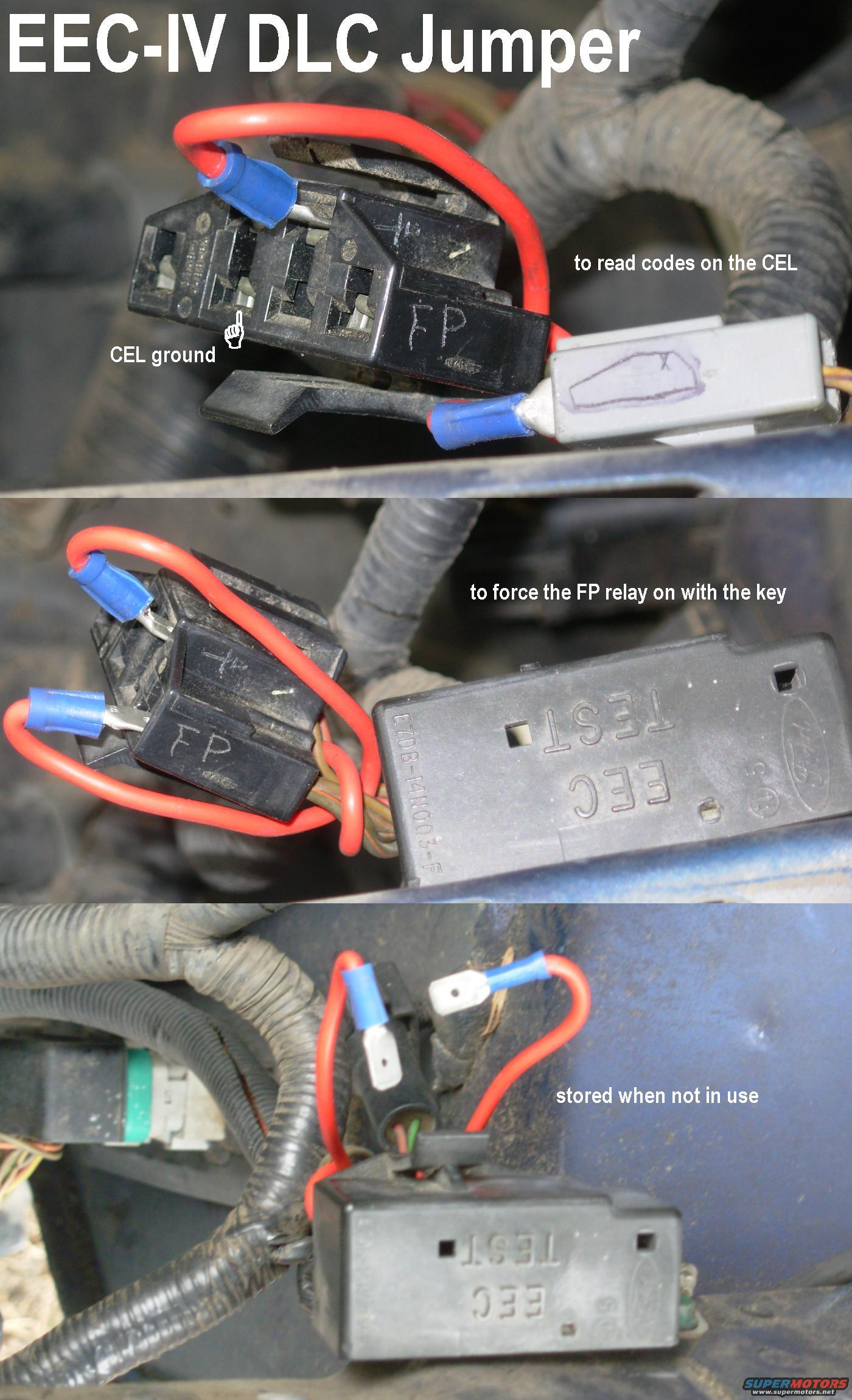Ford Ranger Eec Relay Location