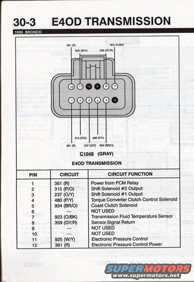 e4od transmission wiring diagram 1992 ford bronco diagrams pictures, videos, and sounds ... ford e4od transmission wiring diagram #2