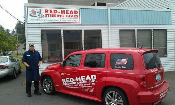 Redhead steering gear