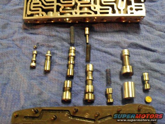 christmas-transmission-137 jpg c6 valve body b&m transpak shift kit  installation