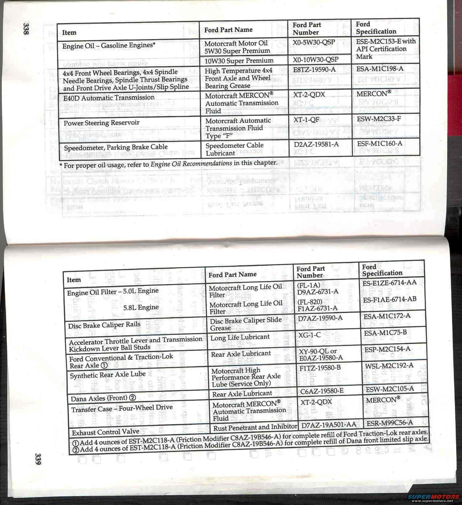 1996 ford bronco owners manual