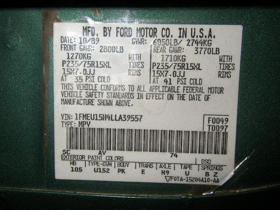 Paint Code Bronco Forum Full Size Ford Bronco Forum