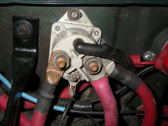 starter relay battery & ground wiring upgrade help ford bronco forum ford f250 starter solenoid wiring diagram at creativeand.co
