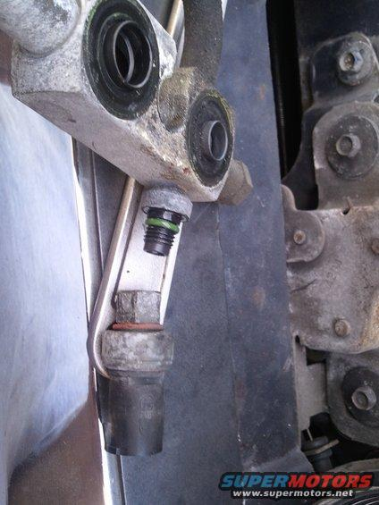 A/C Pressure Switch - Ford Bronco Forum