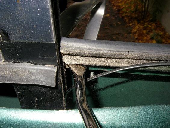 Window weatherstrip replacement ford bronco forum for Exterior door sweep replacement