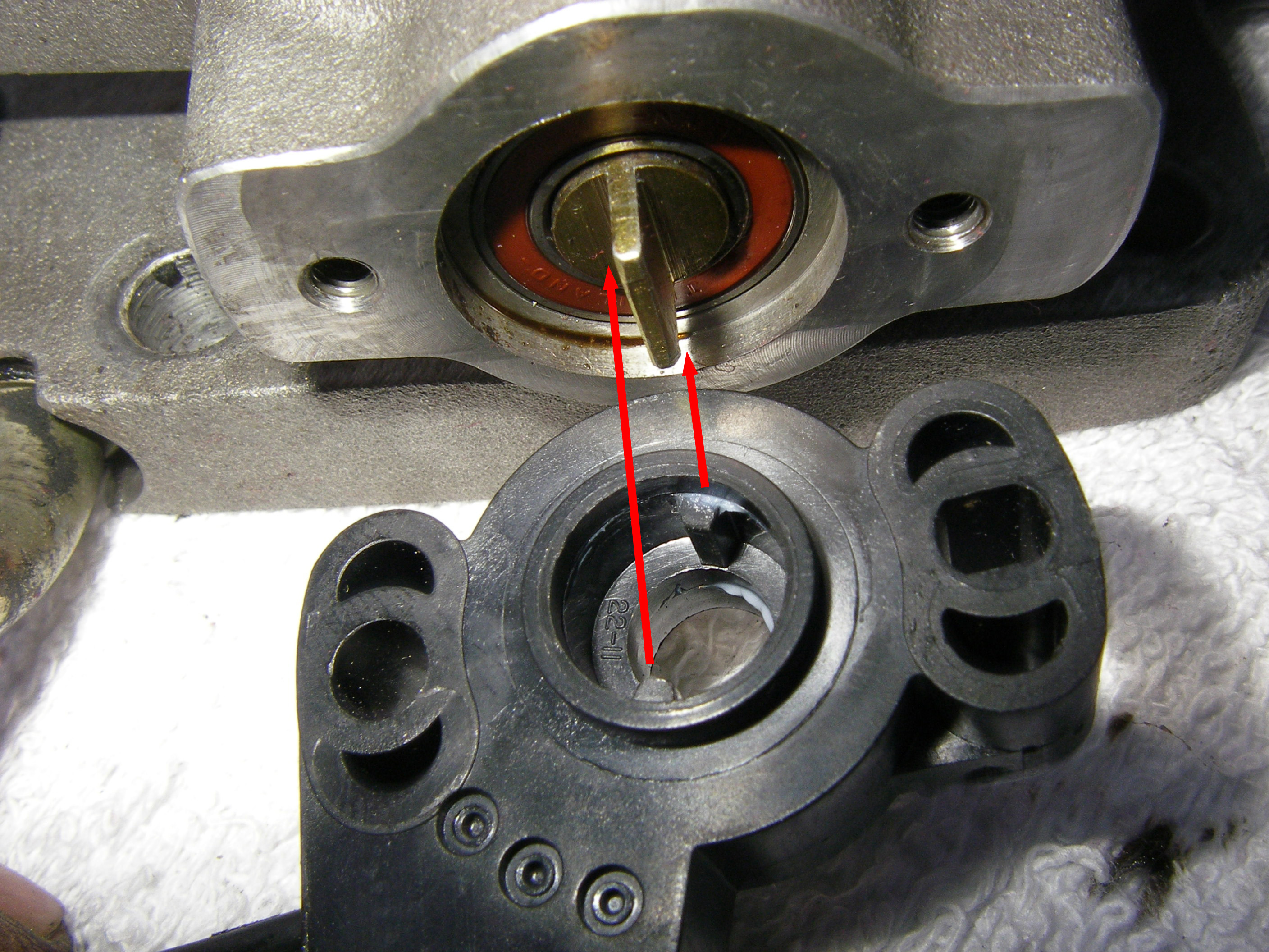Ford Bronco 2 >> 1990 Ford Bronco Throttle Position Sensor picture ...