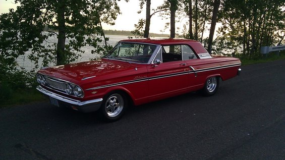 1964 fairlane hits nurburgring webcam
