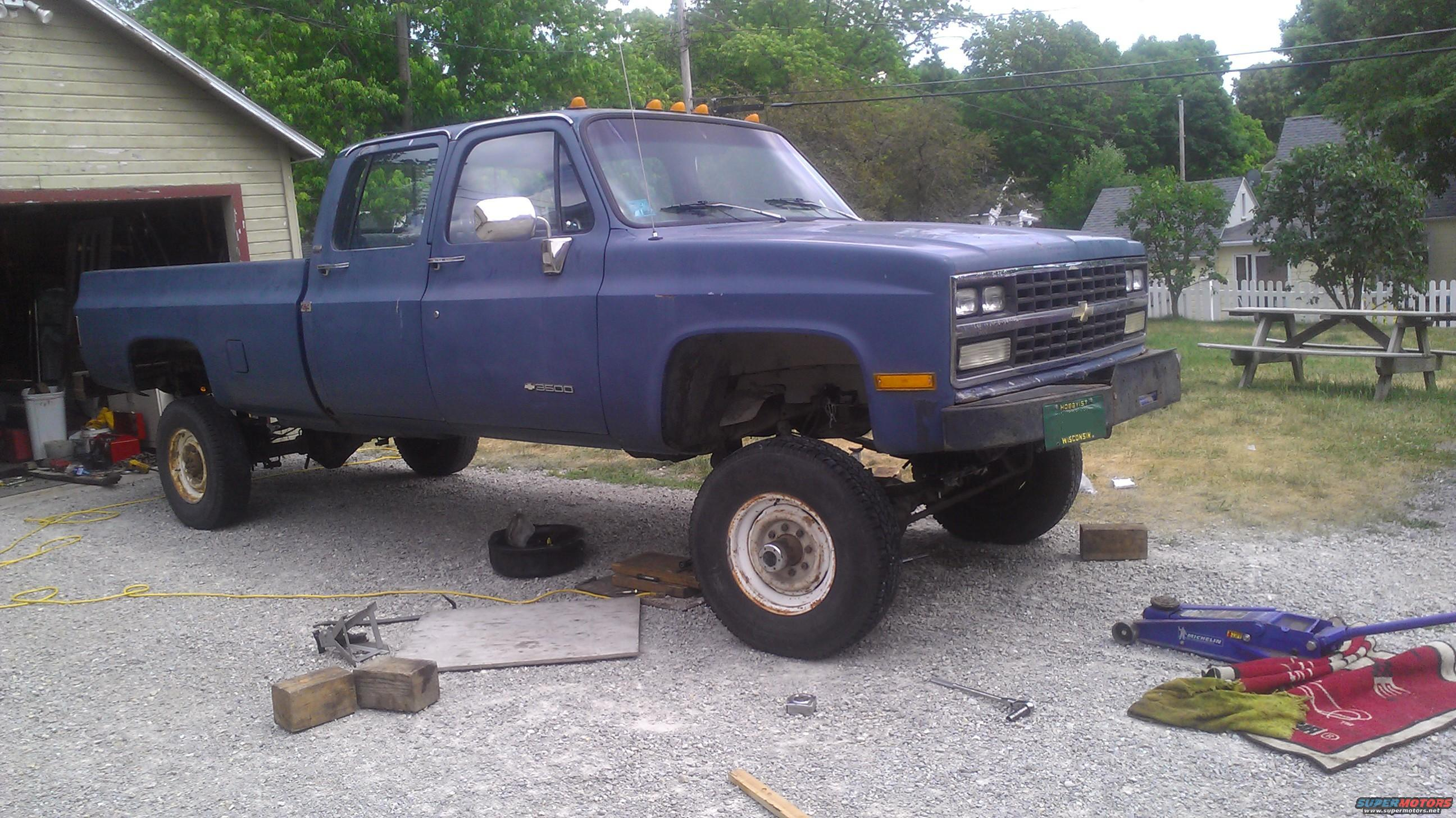 1991 Chevrolet Cheyenne Crew Cab Picture File 11 Of 20