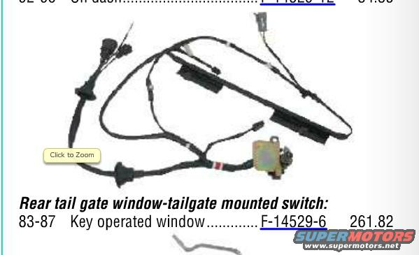 Bronco Tailgate Wiring Harness - Free Wiring Diagram For You •