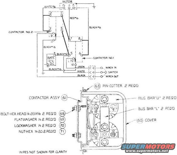 1976 Ford Bronco Hickey Sidewinder II pictures, videos, and ... Hickey Sidewinder Winch Wiring Diagram on