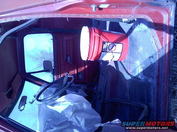 1978 Ford Bronco Interior Red Color Code Matching - Ford ...