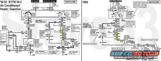 1992 Ford Bronco Diagrams picture | SuperMotors.net  F Air Conditioning Wiring Diagram on